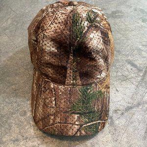 Vintage Realtree Camo Snapback Hat